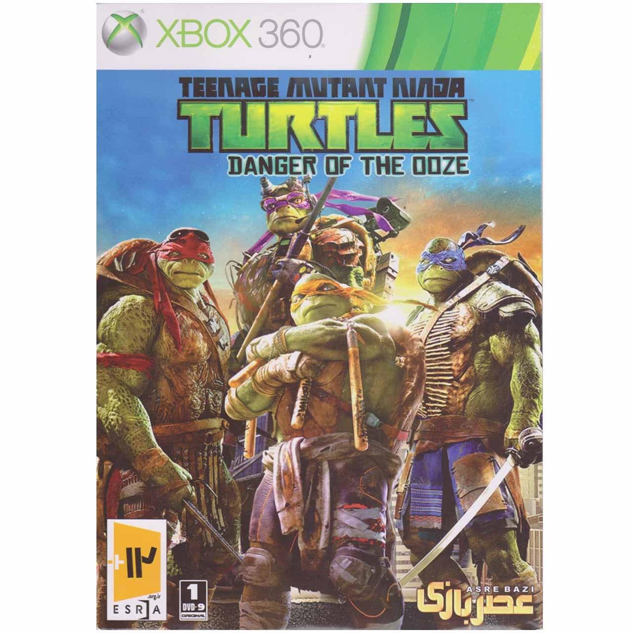 خرید اینترنتی بازی Turtles مخصوص ایکس باکس 360 اورجینال