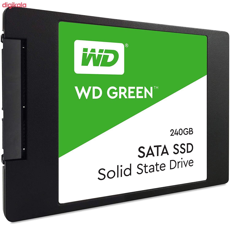 اس اس دی اینترنال وسترن دیجیتال مدل Green WDS240G2G0A ظرفیت 240 گیگابایت main 1 6