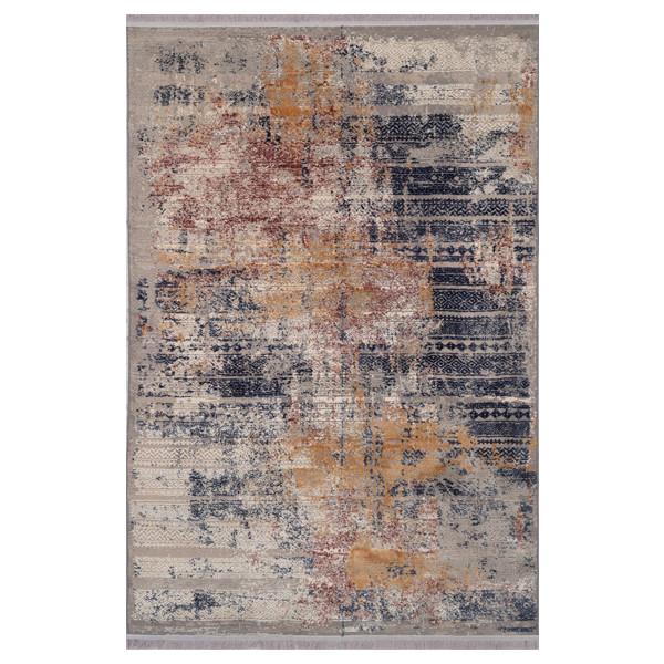فرش ماشینی برسام کد 6432 زمینه طوسی