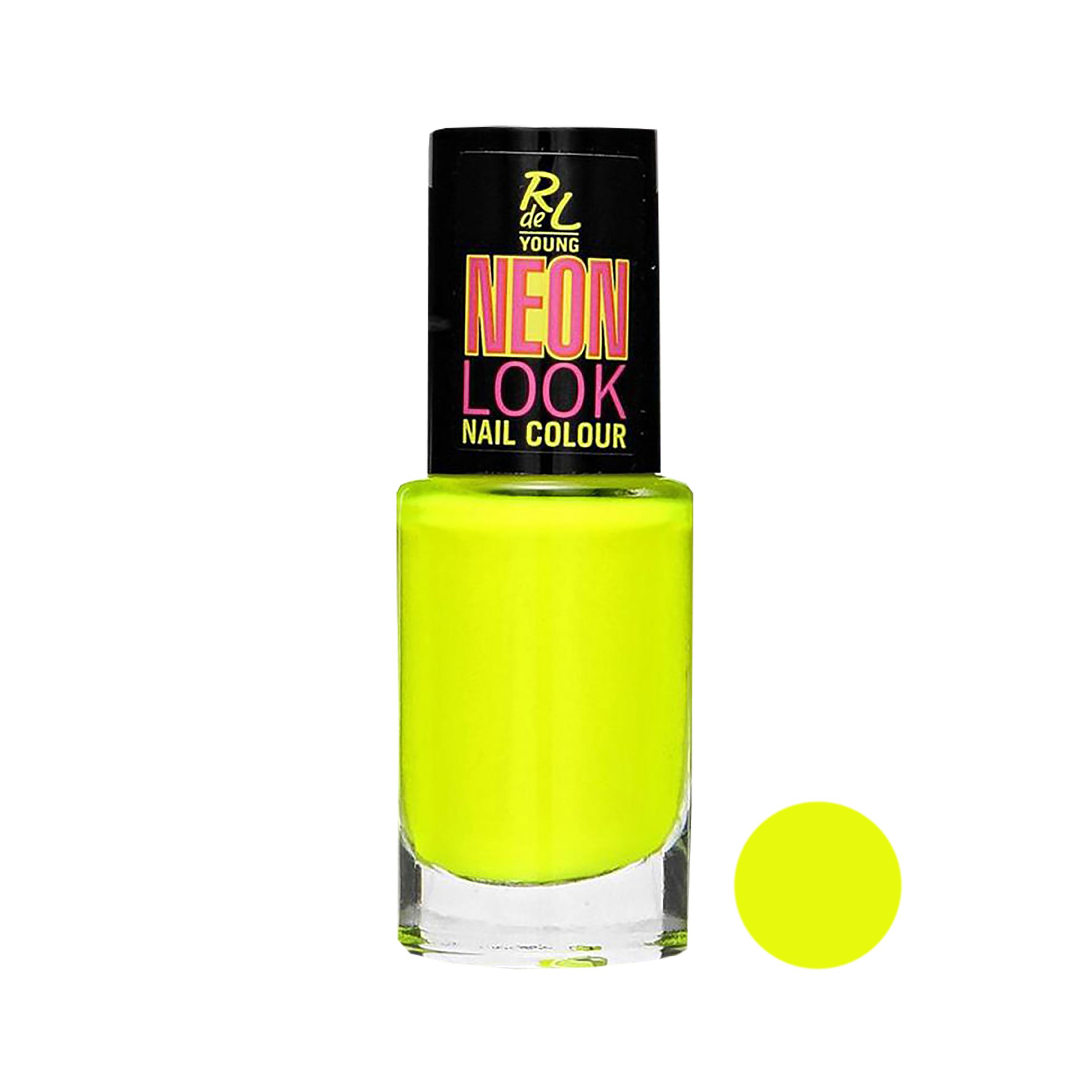خرید اینترنتی با تخفیف ویژه لاک ناخن ریوال د یانگ مدل Neon Look شماره 01