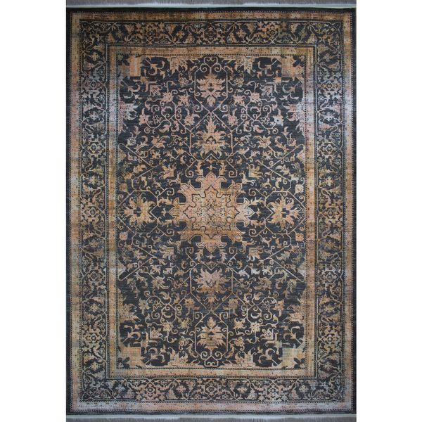 فرش ماشینی افرند طرح پتینه کد 6621