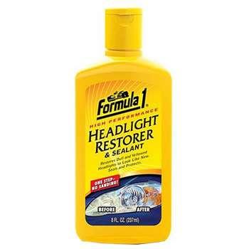 محلول پاک کننده چراغ های خودرو فرمول وان مدل Headlight Restorer 686171 - حجم 237 میلی لیتر