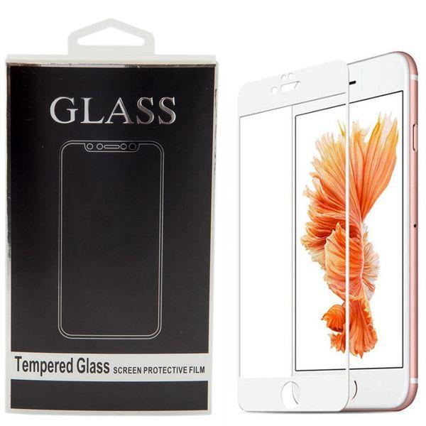 محافظ صفحه نمایش تمام چسب شیشه ای مدل 5D مناسب برای گوشی اپل آیفون 6 پلاس/ 6s پلاس