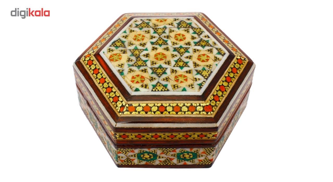 خرید                      جعبه خاتم کاری گالری مند کد Mkh10
