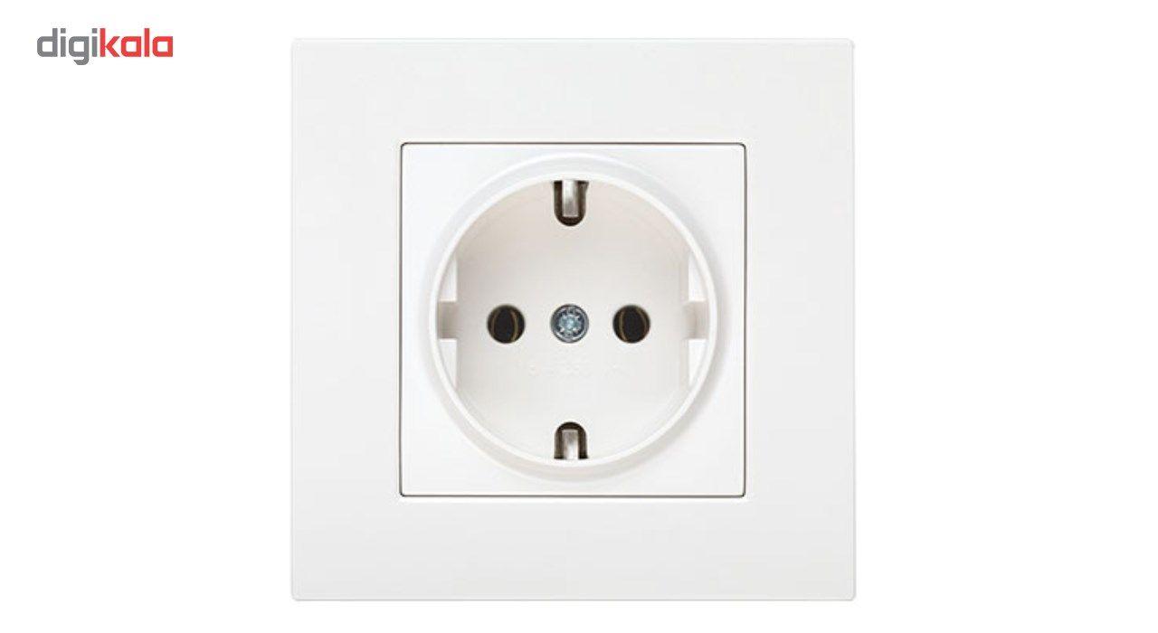 پریز برق ارت دار دلند مدل آسا main 1 1