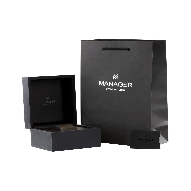 ساعت مچی  مردانه منیجر مدل MAN-MA-01-NL              اصل