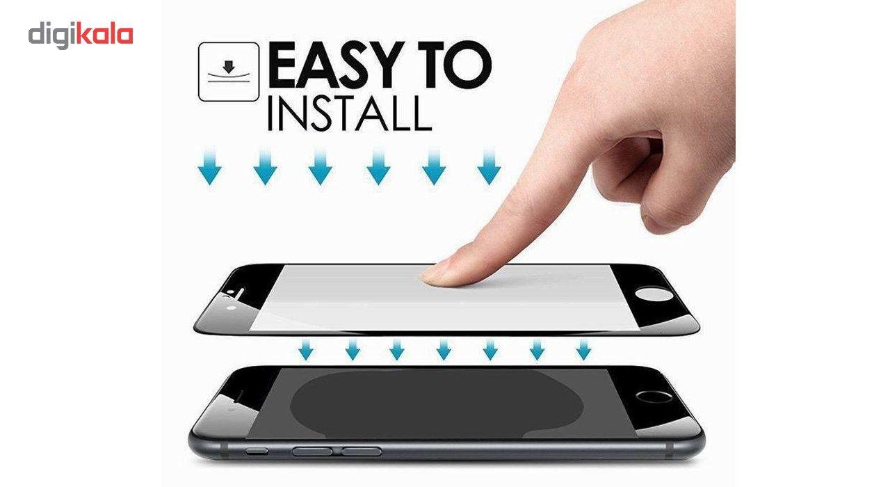 محافظ صفحه نمایش تمام چسب شیشه ای مدل 5D مناسب برای گوشی اپل آیفون 6 پلاس/ 6s پلاس main 1 8
