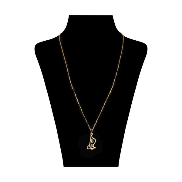 گردنبند طلا 18 عیار زنانه مدیسا مدل N3006