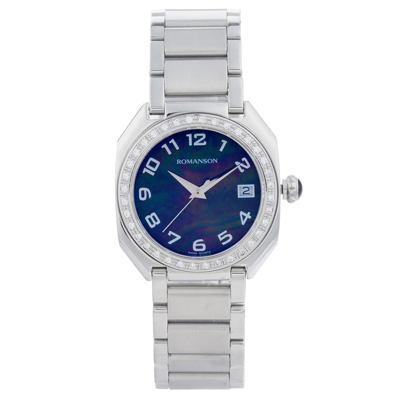 ساعت مچی عقربه ای زنانه رومانسون مدل RM1208QL1WM32W