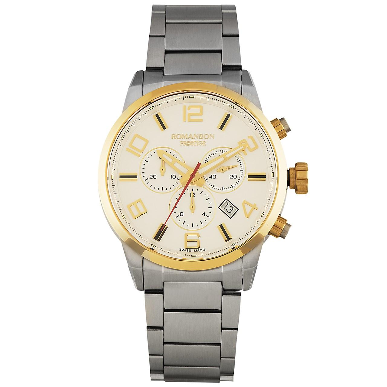 ساعت مچی عقربه ای مردانه رومانسون مدل TM3259HM1CAS1G 35