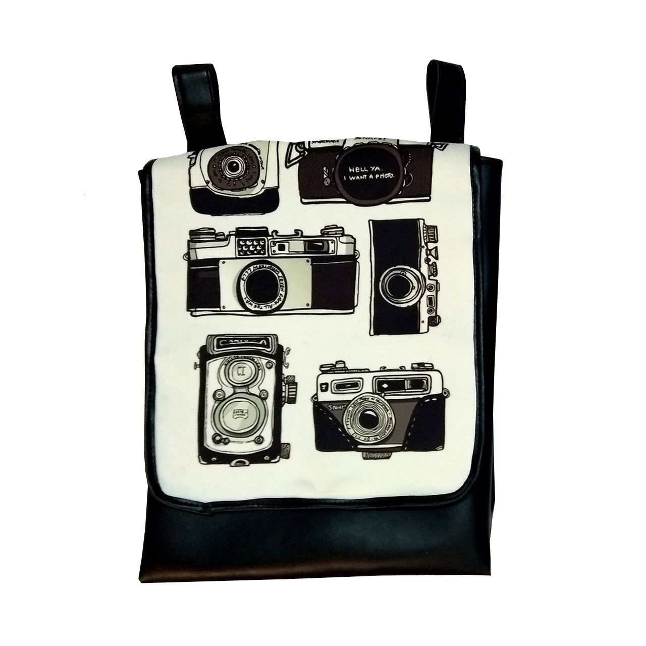 کوله پشتی دالاوین طرح دوربین کد K-6 -  - 2