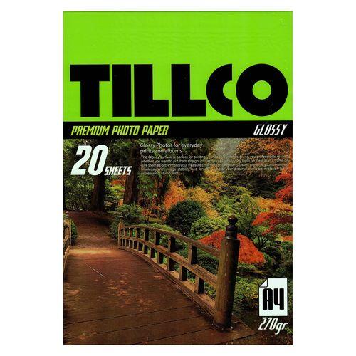 کاغذ عکس تیلکو مدل Glossy Premium Photo Paper سایز  A4 بسته 20 عددی
