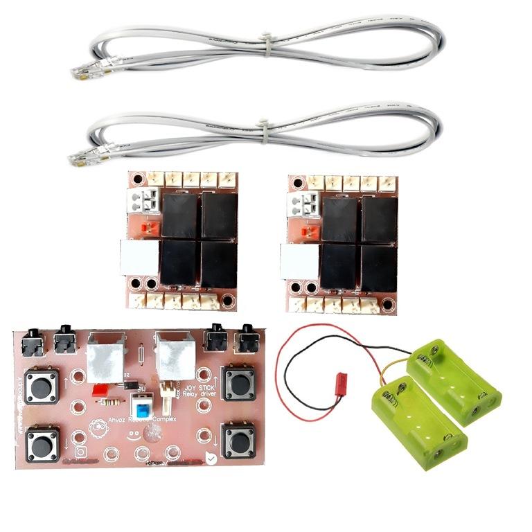 دسته کنترل ربات نادکو مدل RMT RELAY 4CH