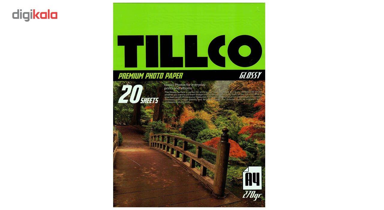 کاغذ عکس تیلکو مدل Glossy Premium Photo Paper سایز  A4 بسته 20 عددی main 1 1