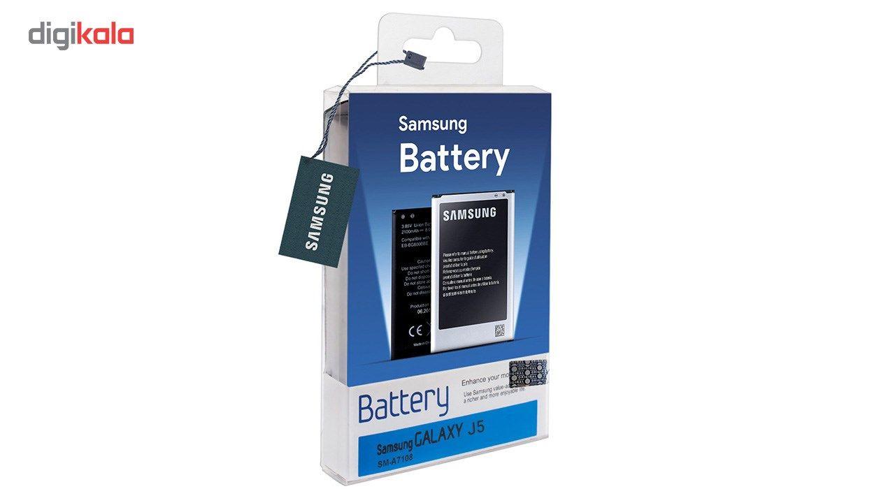 باتری موبایل  مدل EB-BJ510CBE با ظرفیت 3100mAh مناسب برای گوشی موبایل سامسونگ Galaxy J5 2016 main 1 2