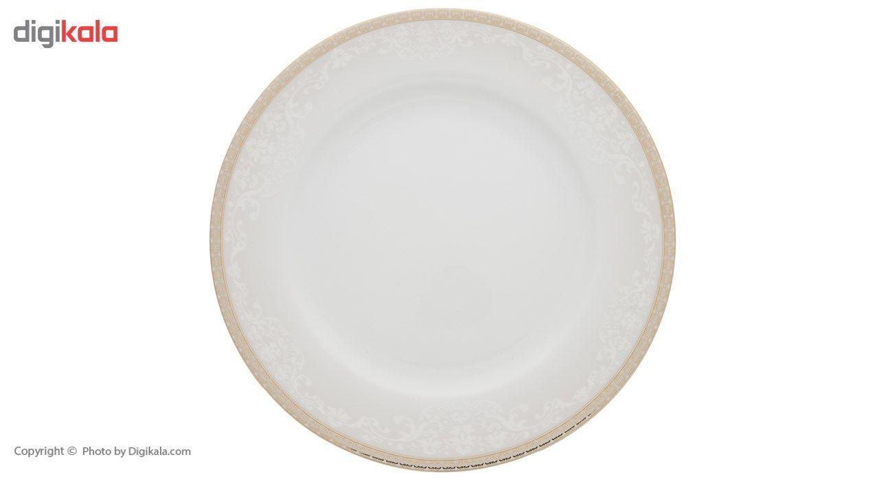سرویس چینی 28 پارچه غذاخوری چینی زرین ایران سری ایتالیا اف مدل ریوا درجه عالی main 1 1