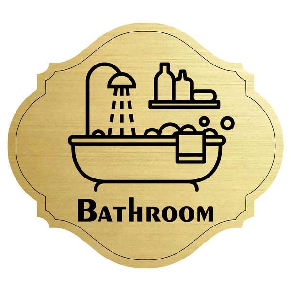 برچسب نشانگر  مدل حمام