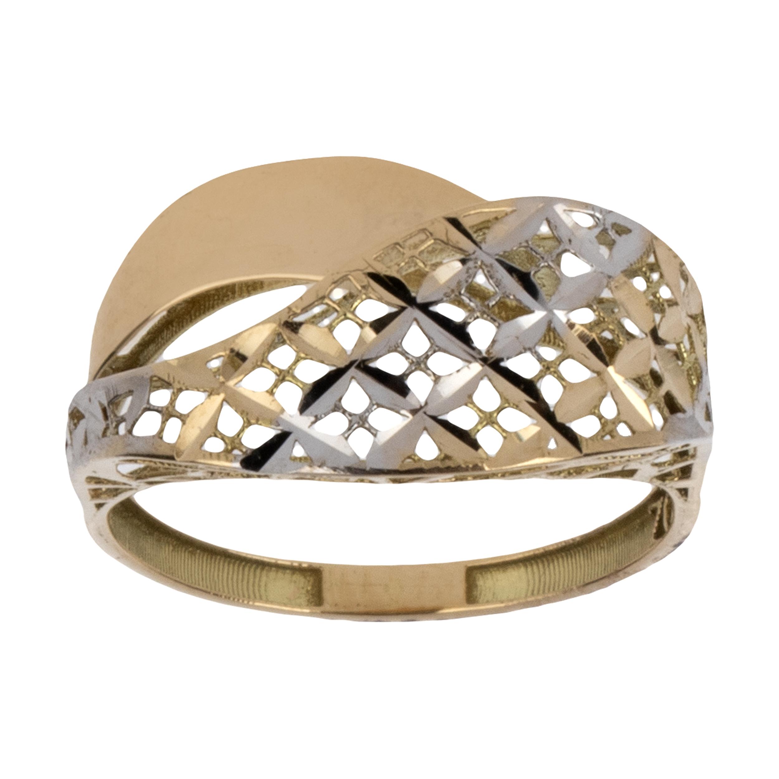 انگشتر طلا 18 عیار زنانه آلند کد BR26