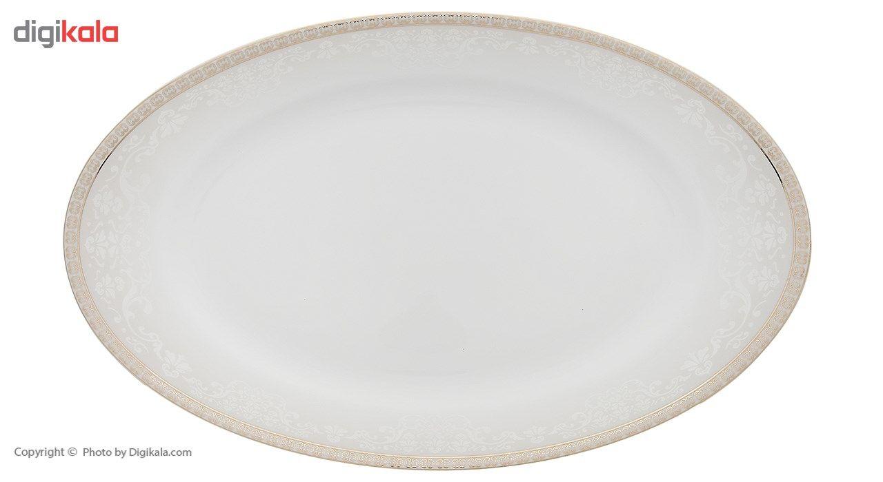 سرویس چینی 28 پارچه غذاخوری چینی زرین ایران سری ایتالیا اف مدل ریوا درجه عالی main 1 3