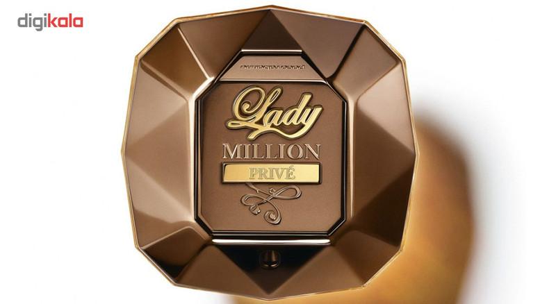 ادو پرفیوم زنانه پاکو رابان مدل Lady Million Prive حجم 80 میلی لیتر