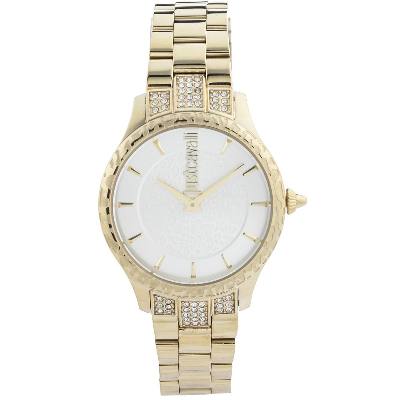 ساعت مچی عقربه ای زنانه جاست کاوالی مدل JC1L004M0065