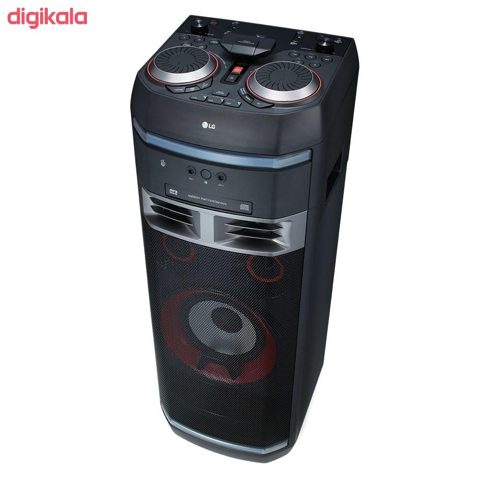 سیستم صوتی ال جی مدل OK75 main 1 17