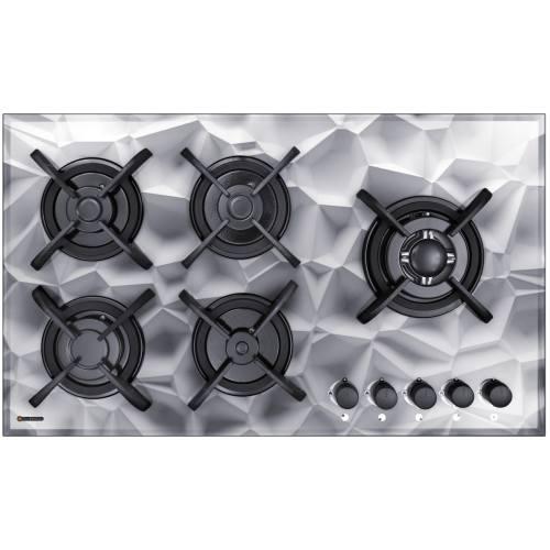 اجاق گاز صفحه ای درخشان G629 شیشه ای سه بعدی