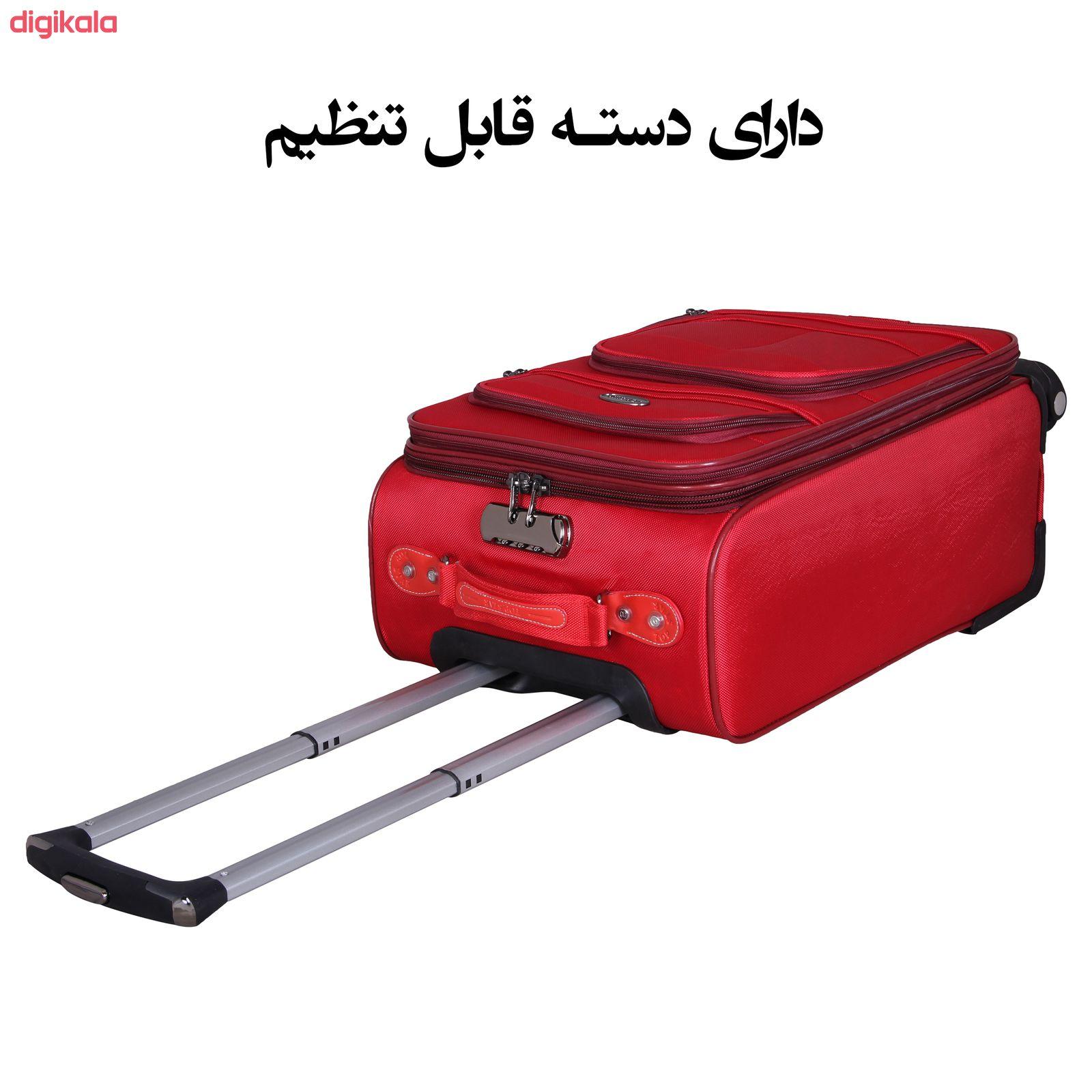 مجموعه سه عددی چمدان کدA1034 main 1 16