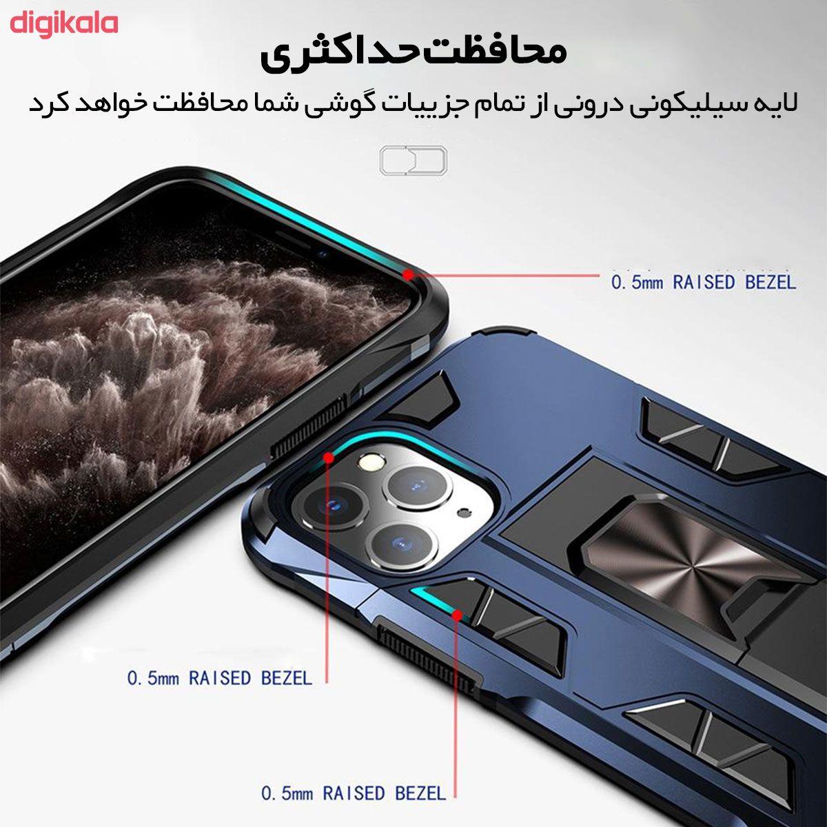 کاور لوکسار مدل Defence90s مناسب برای گوشی موبایل اپل iPhone 11 Pro main 1 1