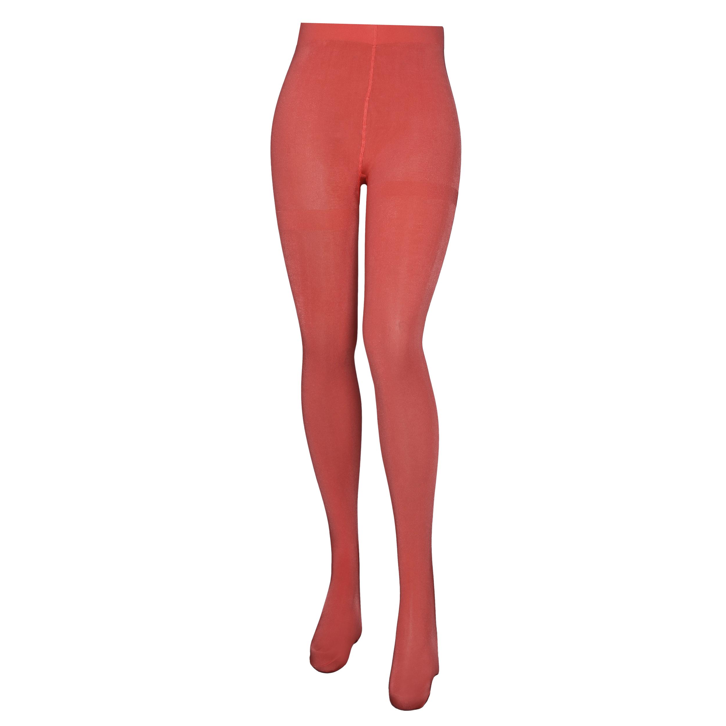 جوراب شلواری زنانه اکسلنس مدل 1128511 رنگ مرجانی
