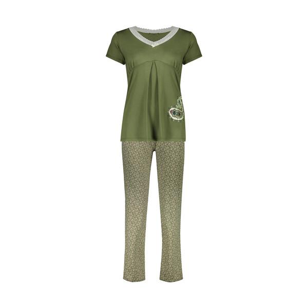 ست تی شرت و شلوار زنانه ناربن مدل 1521373-48