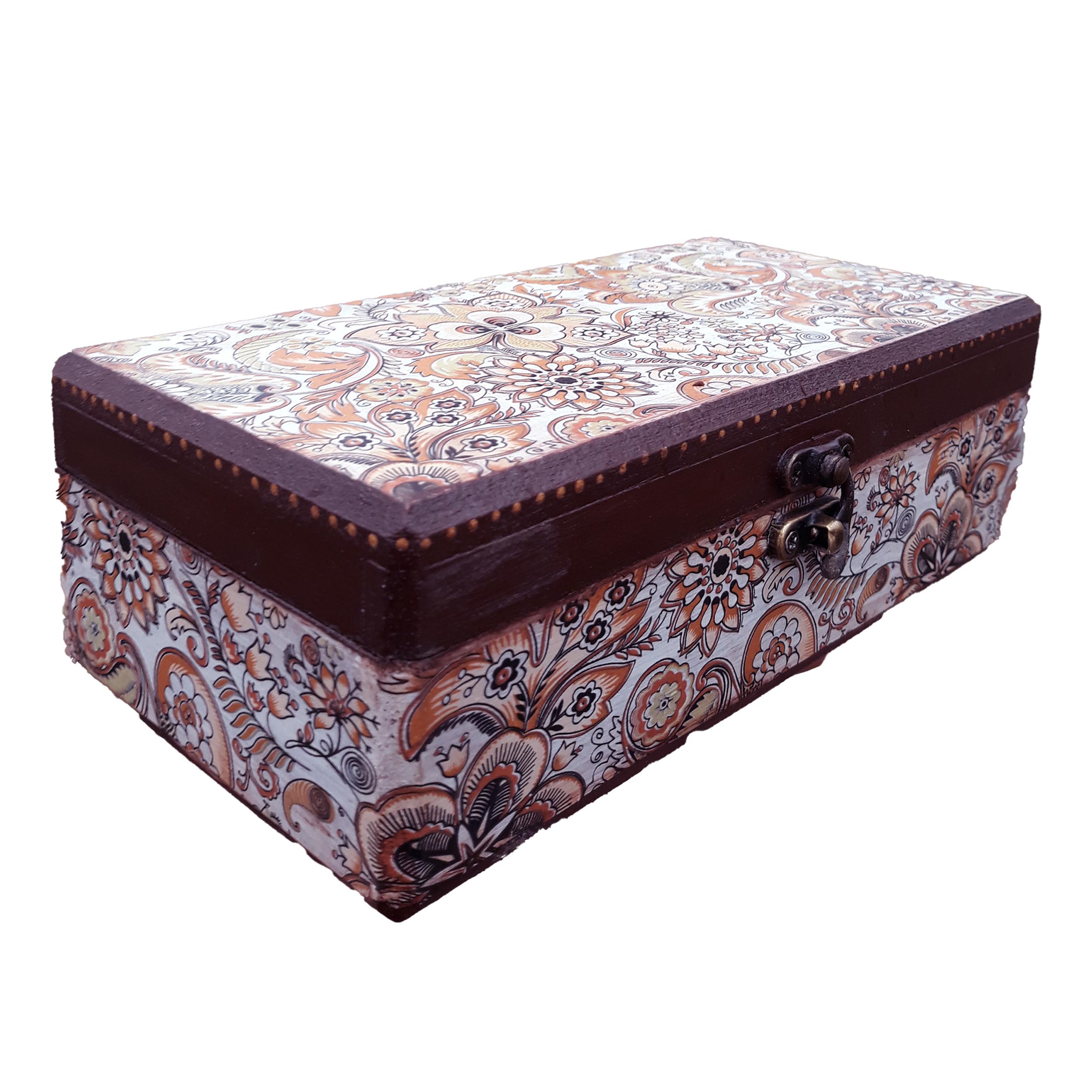 جعبه هدیه چوبی مدل YG101