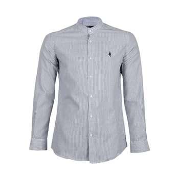 پیراهن آستین بلند مردانه ناوالس مدل RahRah-BK-20140