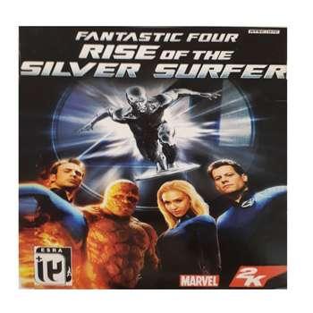 بازی  fantastic four rise of the silver surfer مخصوص ps2