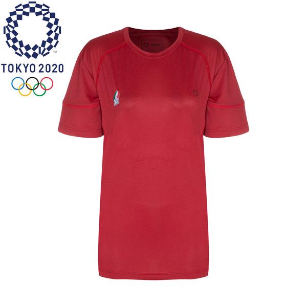 تی شرت  ورزشی زنانه مل اند موژ مدل W07049-003