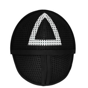 ماسک ایفای نقش مدل سربازان اسکویید گیم طرح مثلث