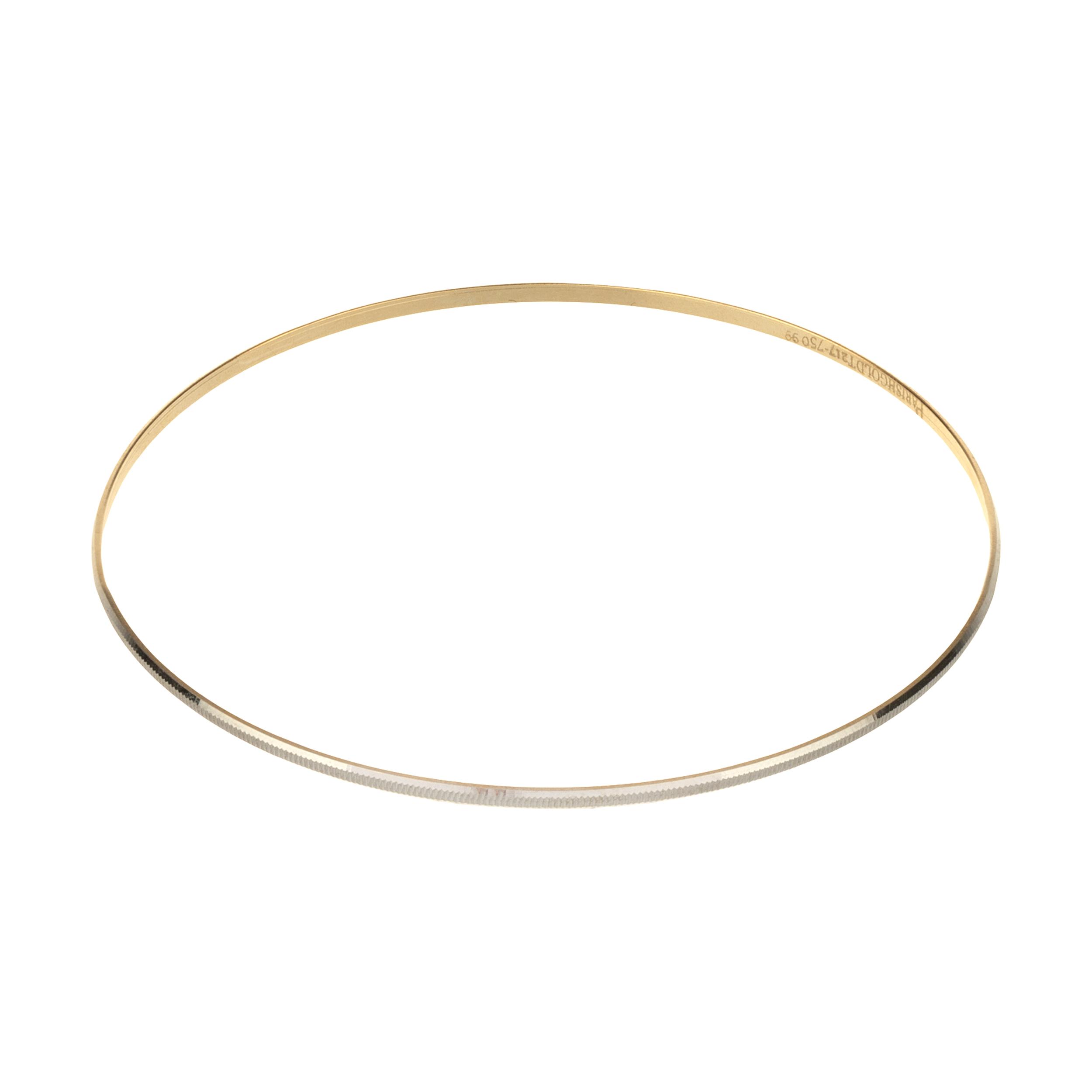 النگو طلا 18 عیار زنانه گالری یار طلا کد AL12-W-3
