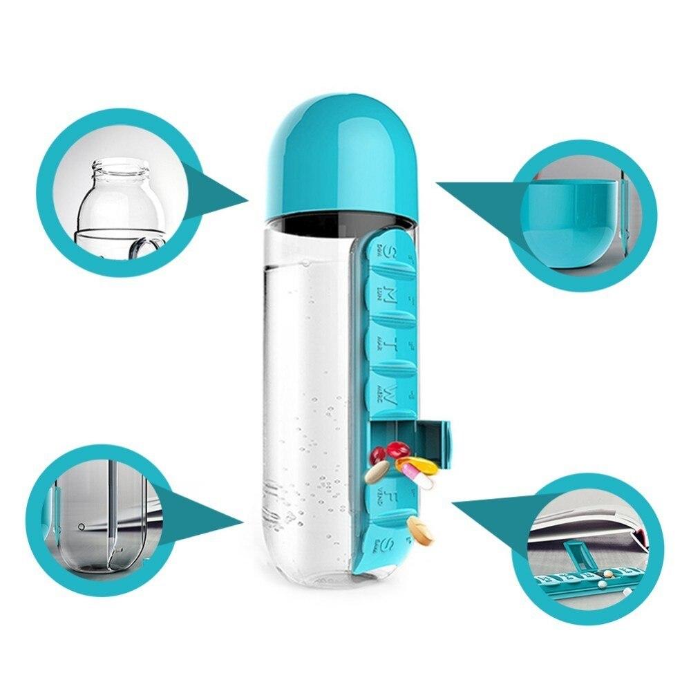 جعبه نگهدارنده دارو و بطری آب مدل 830  در بزرگترین فروشگاه اینترنتی جنوب کشور ویزمارکت