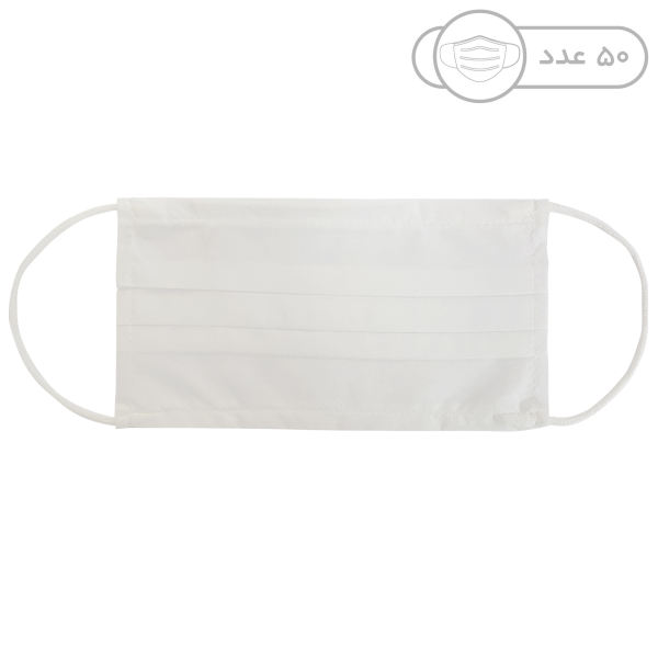 ماسک تنفسی مدل SSMMS-4 بسته 50 عددی