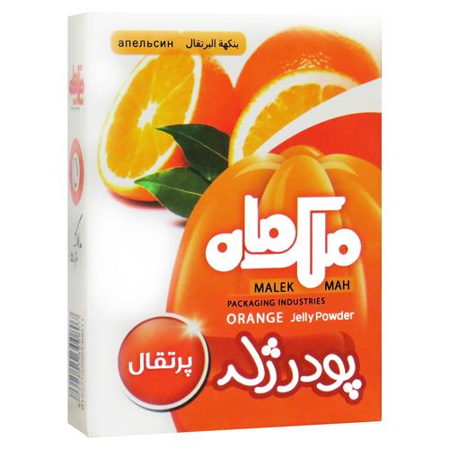 پودر ژله پرتقال ملک ماه - 90 گرم