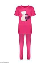 ست تی شرت و شلوار زنانه مادر مدل Billie410-66 -  - 2