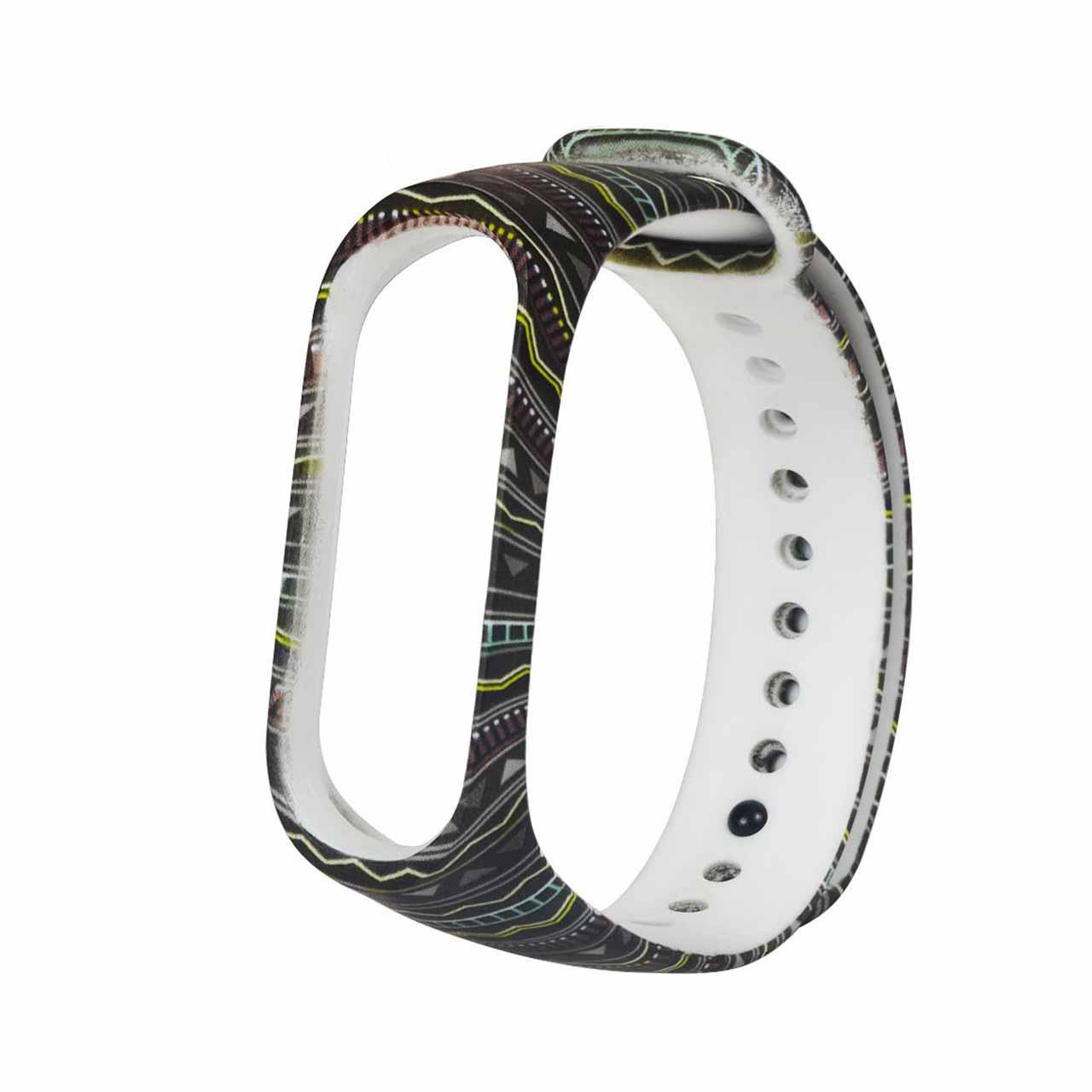 بند  مدل LIN01 مناسب برای مچ بند هوشمند شیائومی Mi Band 3 /Mi Band 4