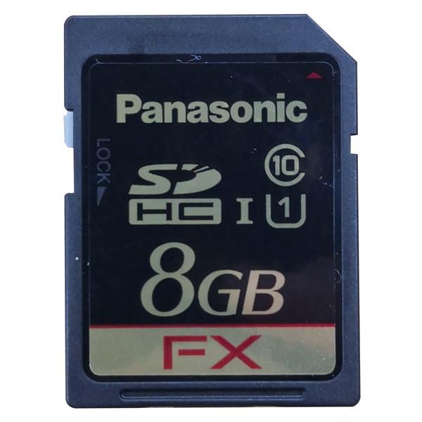 کارت حافظه SDHC سانترال پاناسونیک مدل KX-NS5135کلاس10 استاندارد باظرفیت 8 گیگابایت