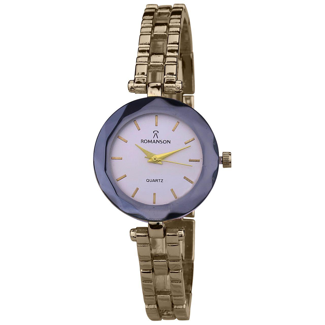ساعت مچی عقربه ای زنانه کد WLF-8844              ارزان