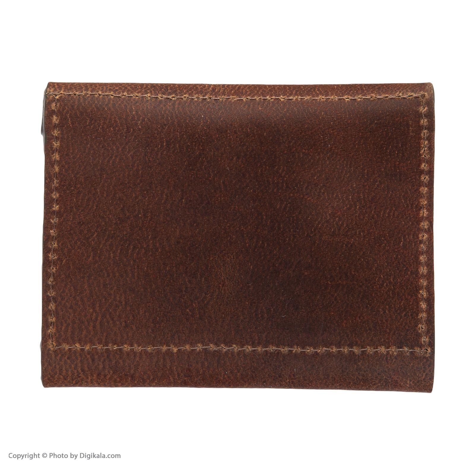 کیف پول مردانه چرم لانکا مدل PC-9-04 main 1 2