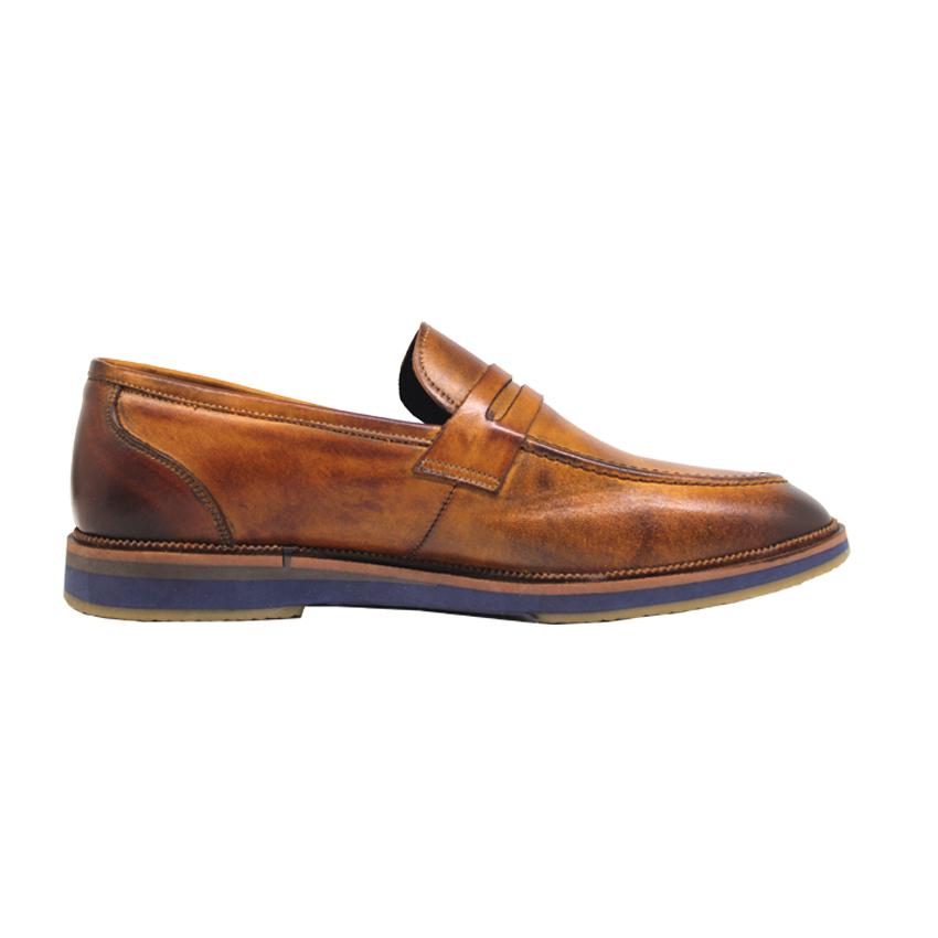 کفش روزمره مردانه چرم آرا مدل sh025  -  - 5