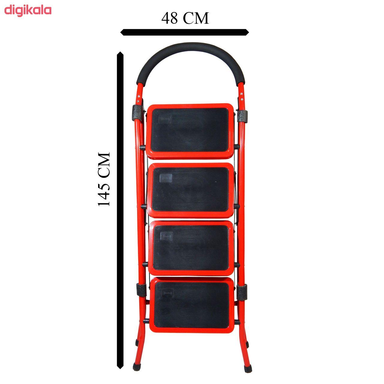 نردبان 4 پله بلندا مدل B.O4s main 1 3