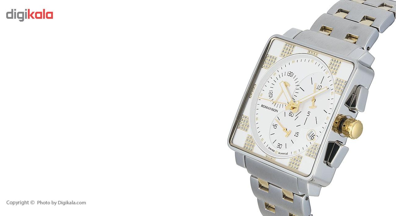 ساعت مچی عقربه ای مردانه رومانسون مدل TM9202HM1CA11G