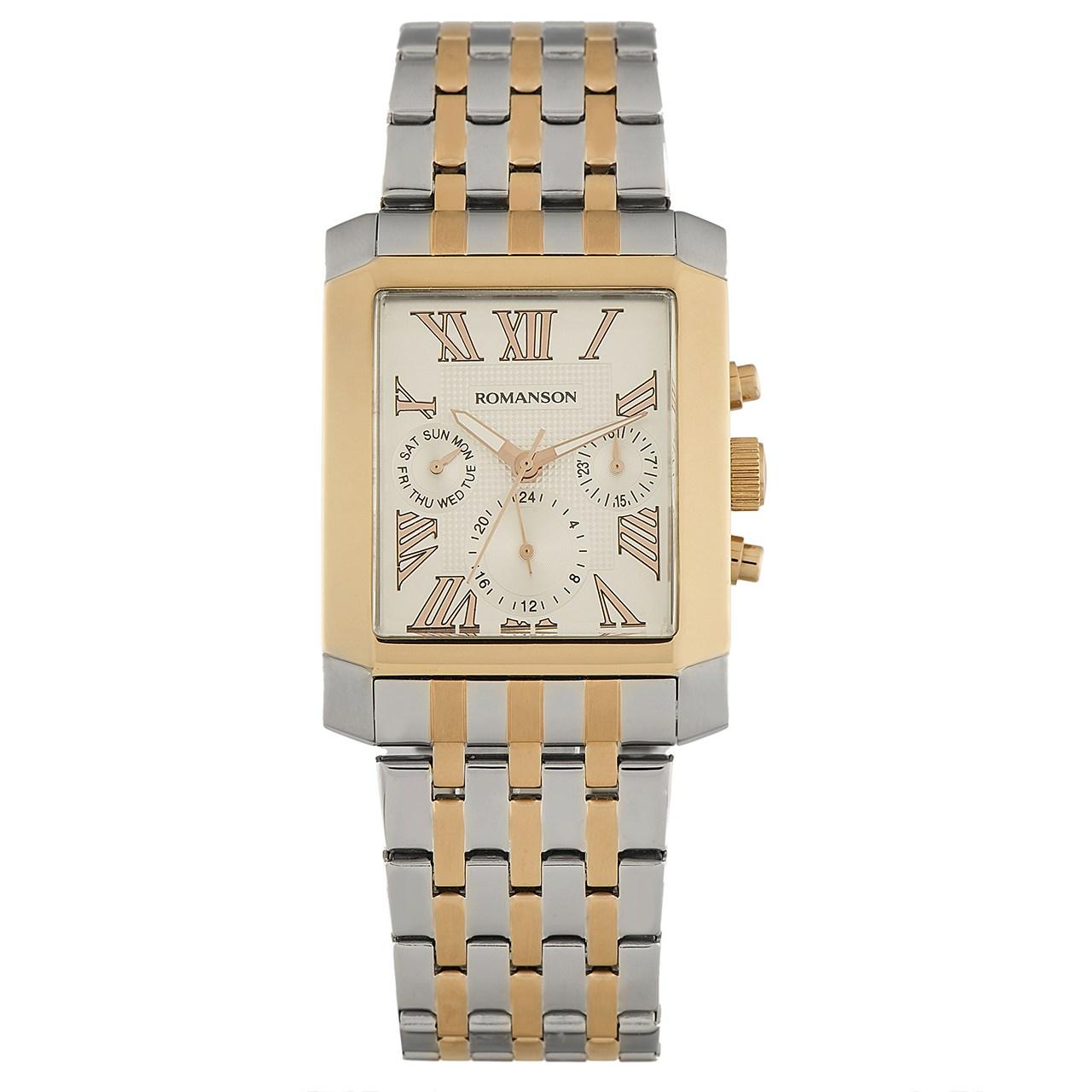 ساعت مچی عقربه ای مردانه رومانسون مدل TM0342BM1JA16R 18