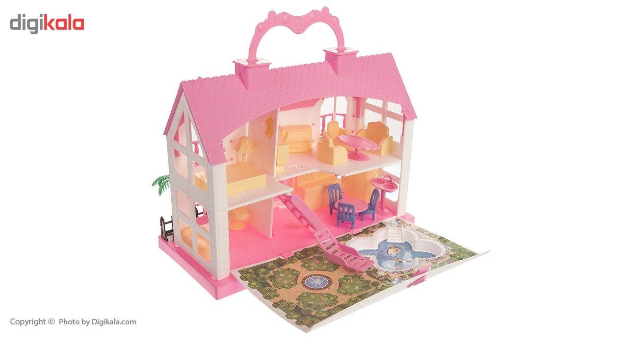 اسباب بازی اینکادو تویز مدل Azine House main 1 1